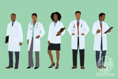 Med-LabCoatBlackDoctors
