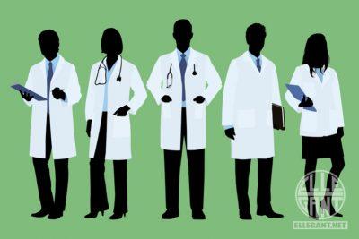 Med-LabCoatSilhouetteDoctor