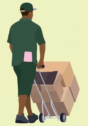 deliverymanWalkingAwayBLACK