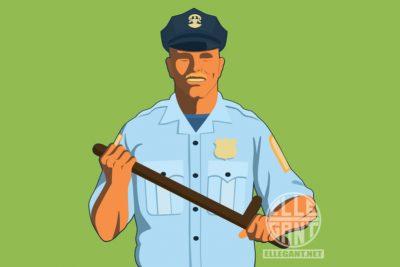 PoliceGreenBG